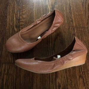 Mossimo Supply Co. brown wedges, Size 8.5